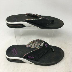 Reef Fanning Flip Flops Casual Flat Sandals Thick